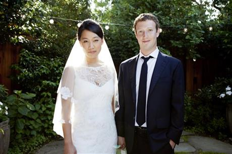 Facebook CEO Married