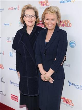 Meryl Streep, Tina Brown