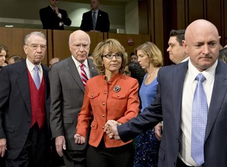 Gabrielle Giffords , Mark Kelly, Patrick Leahy, Charles Grassley