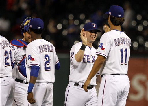Jurickson Profar, Yu Darvish, Michael Young