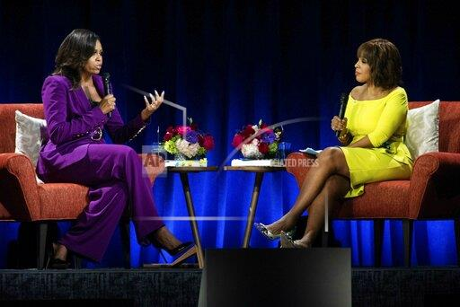 """Becoming: An Intimate Conversation with Michelle Obama"" - Atlanta"