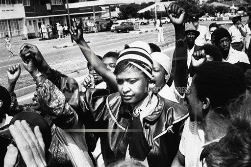 Watchf Associated Press International News   SOUTH AFRICA APHS143232 Winnie Mandela