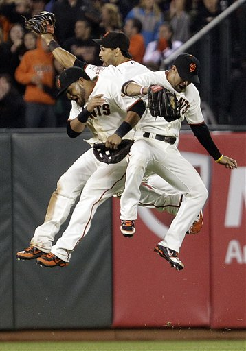 Melky Cabrera, Gregor Blanco, Angel Pagan 