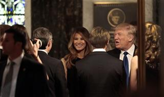 Trump attends funeral for Phyllis Schlafly