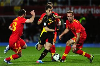 Eden Hazard, Aleksandar Lazevski, Nikolce Noveski