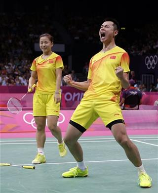 London Olympics Badminton