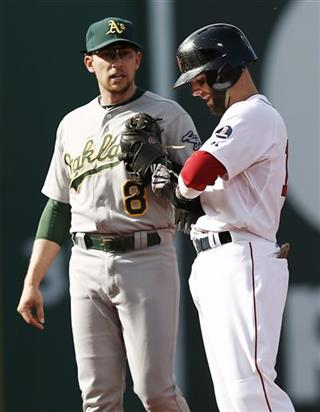 Jed Lowrie, Dustin Pedroia