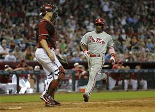 Jimmy Rollins, Miguel Montero