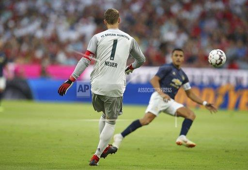 firo Football, Football, 05.08.2018 Test match season 2018/2019 FC Bayern Munich - Manchester United