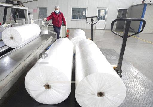 CHINA SHANDONG NON-WOVEN FABRIC PRODUCTION