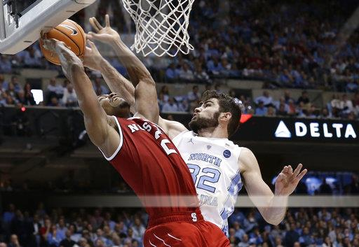APTOPIX NC State North Carolina Basketball