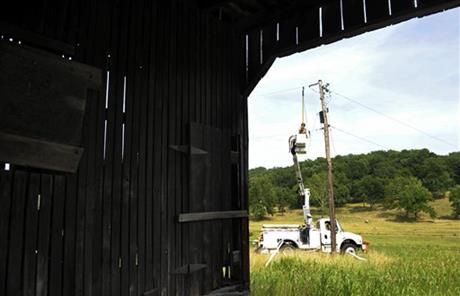Summer Storms Power Crews