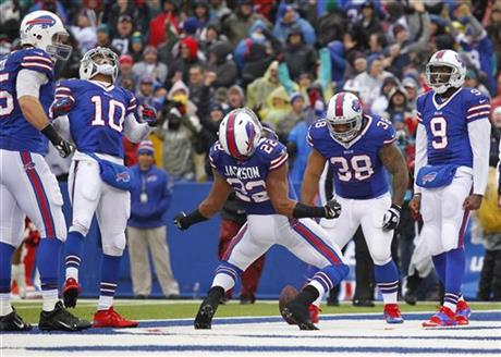 Fred Jackson,Robert Woods,Lee Smith,Frank Summers , Thad Lewis