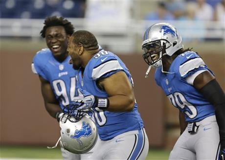 Ndamukong Suh, Ezekiel Ansah, Willie Young