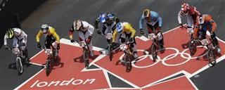 London Olympics Cycling BMX  Men