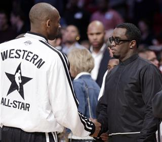 Kobe Bryant, Sean Diddy Combs
