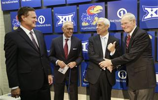 Bill Self, Larry Brown, Roy Williams, Ted Owens
