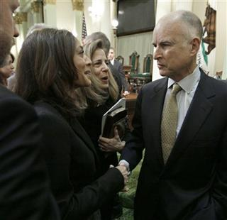 Kamala Harris, Anne Gust Brown, Jerry Brown