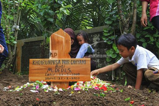 9 Students Died, Drowning in Sempor River Sleman, Yogyakarta - February 22, 2020.