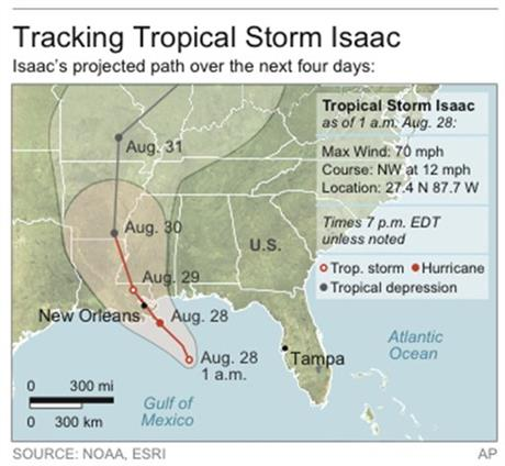 TROP STORM ISAAC