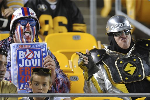 Steelers Bills Fans