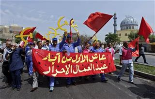 Mideast Iraq May Day
