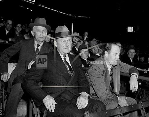 Watchf AP S BBA DC USA APHS435487 Ty Cobb and Clark Griffith 1940