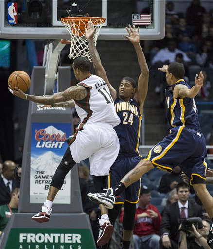 Paul George, Monta Ellis