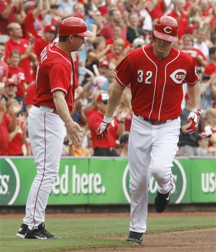 Jay Bruce, Mark Berry