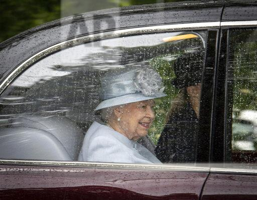 Royals at Crathie Kirk - Church in Scotland, UK - 8/18/19