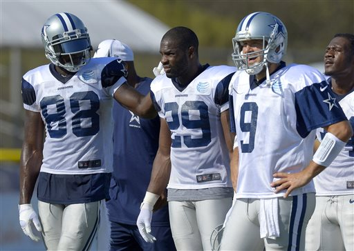Dez Bryant, DeMarco Murray, Tony Romo