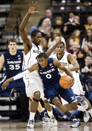 Xavier Wake Forest Basketball