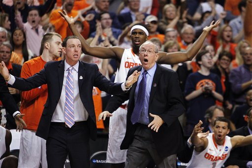 Gerry McNamara, Jim Boeheim, C.J. Fair
