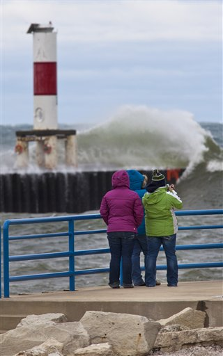 Superstorm Sandy Michigan