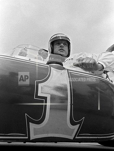 Associated Press Sports Indiana United States Auto Racing INDY 500 PREP CHAMPION FOYT