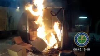 Airliners Battery Fires