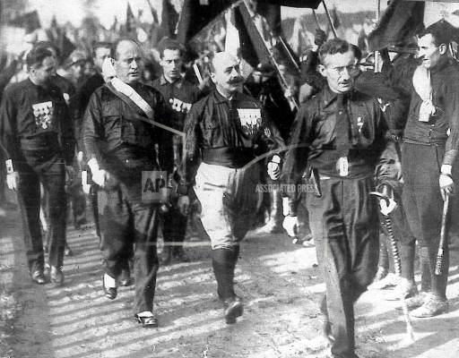 AP PL FILE ITA MUSSOLINI MARCH TO ROME