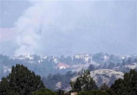 Waldo Canyon Wildfire