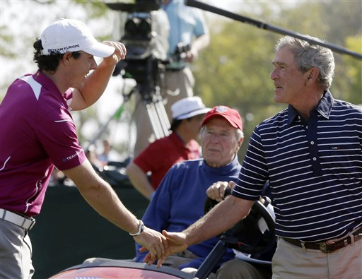Rory McIlroy, George W. Bush
