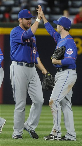 Lucas Duda, Mike Baxter