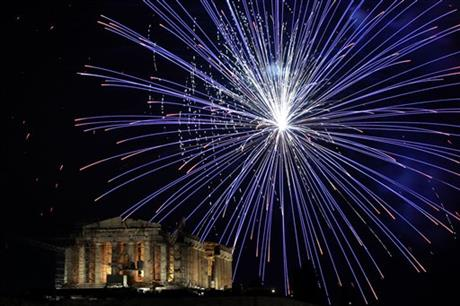 Greece New Years Celebrations