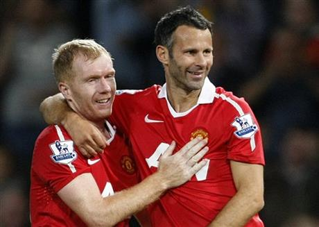 Giggs to be assisted by ex-Man United teammates