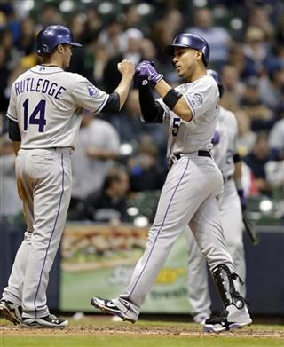 Carlos Gonzalez, Josh Rutledge
