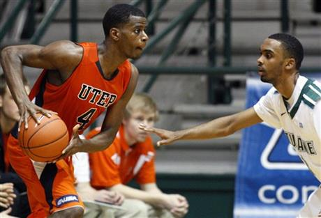 UTEP Tulane Basketball