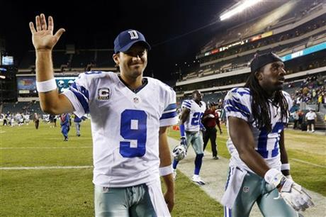 Tony Romo, Dwayne Harris