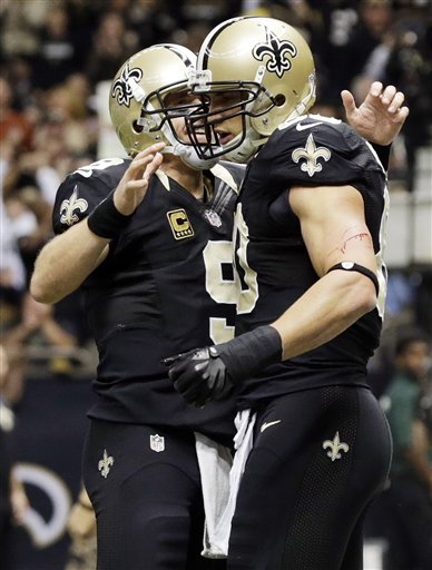 Jimmy Graham, Drew Brees