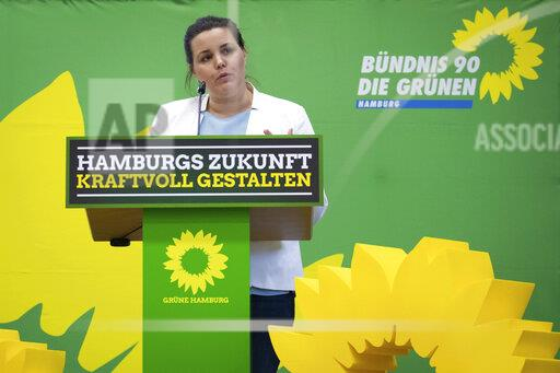 Small party conference of the Greens in Hamburg