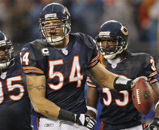 Brian Urlacher, Anthony Adams, Charles Tillman