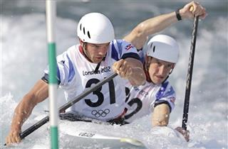 London Olympics Canoe Slalom Men