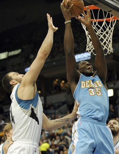 Nikola Pekovic, Kenneth Faried